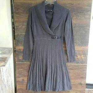2/$20 Jessica Howard sweater dress grey